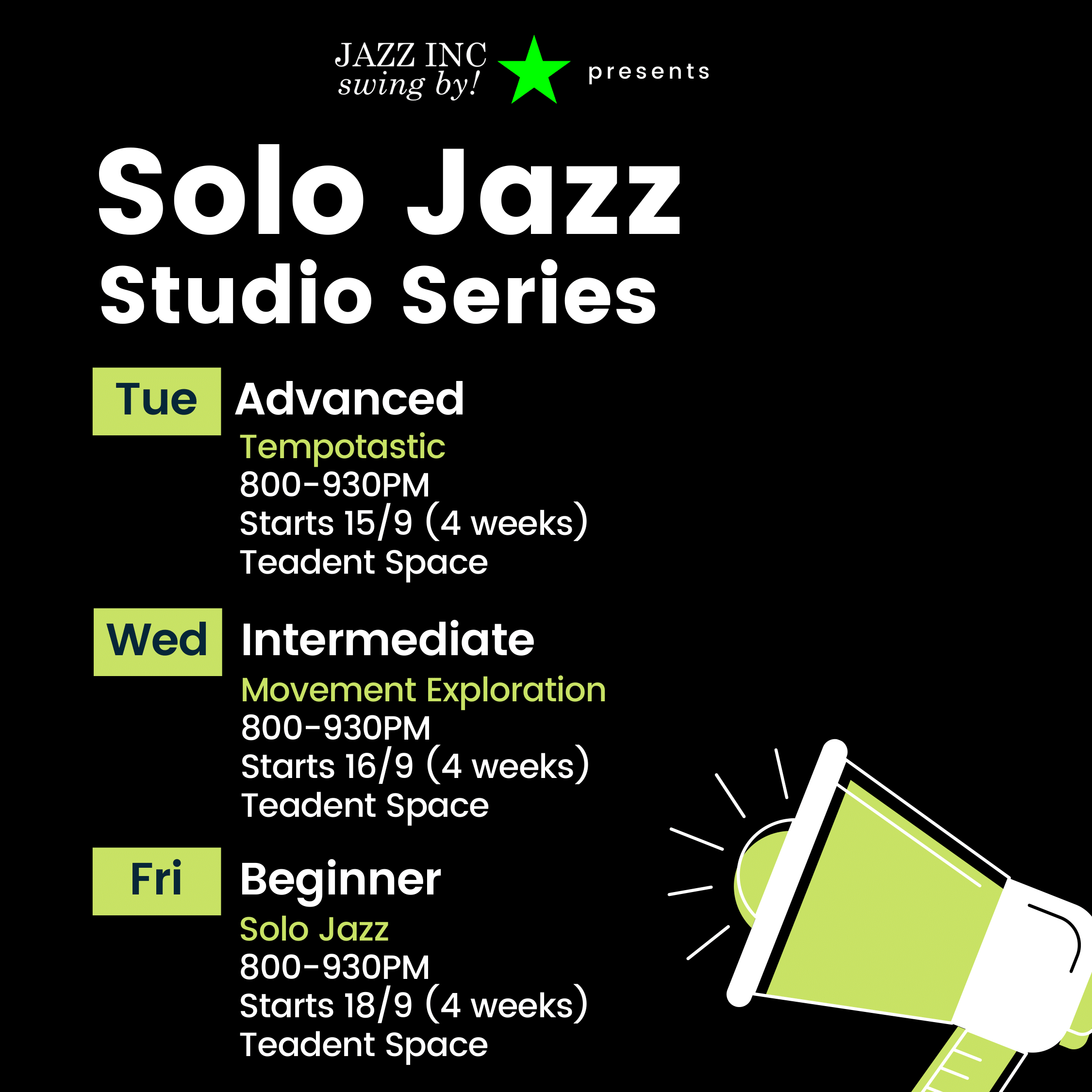 Solo Jazz Studio Series-1